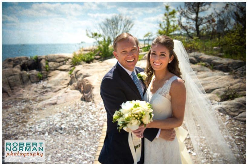 Wee Burn Beach Club wedding, Rowayton CT