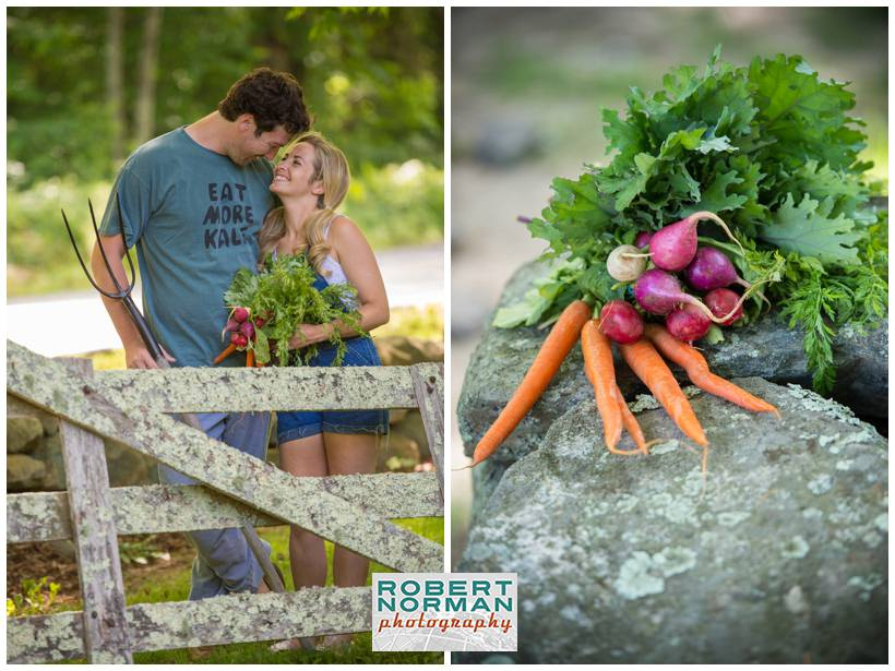 CT engagement session on a farm, Ledyard