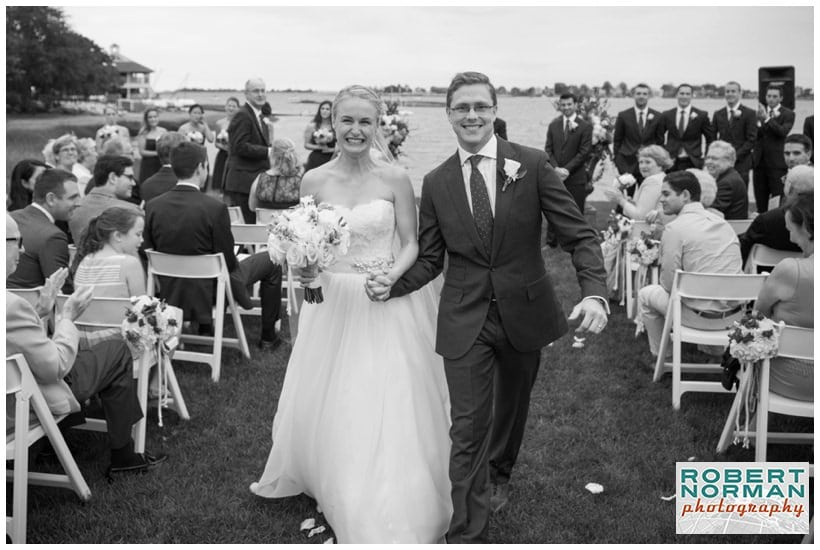 wedding at The Inn at Longshore, Westport Connecticut