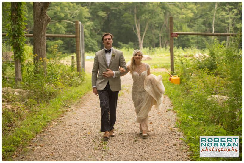 Town Farm Organic wedding in Ledyard CT