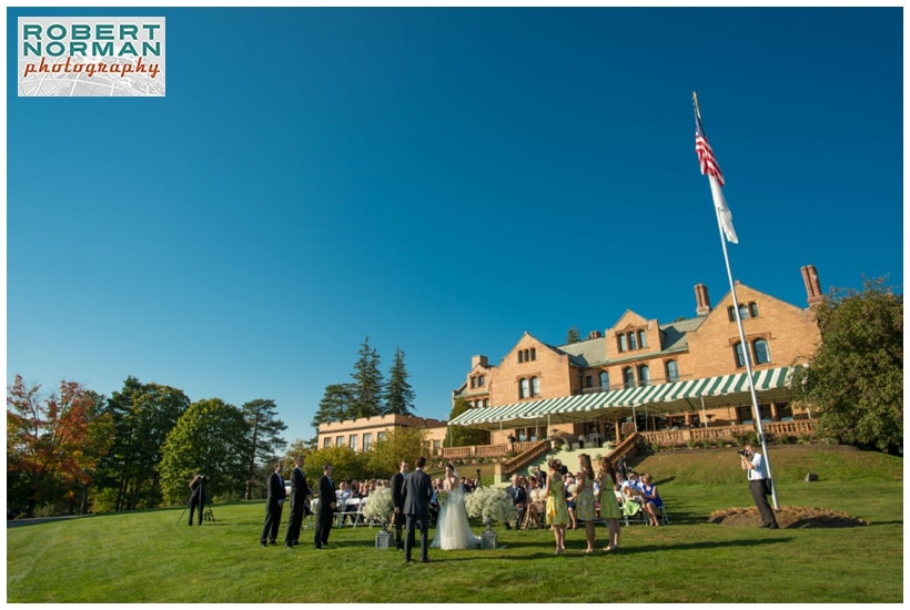 wedding at The Cranwell Resort, Lenox MA