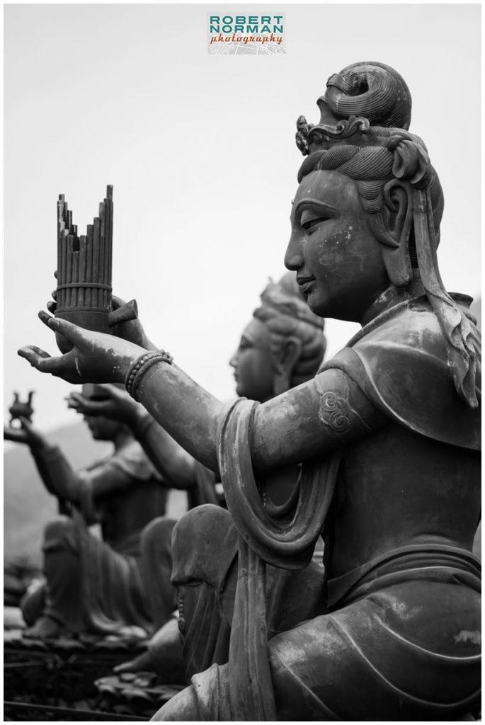 The Big Buddha and Po Lin Monastery