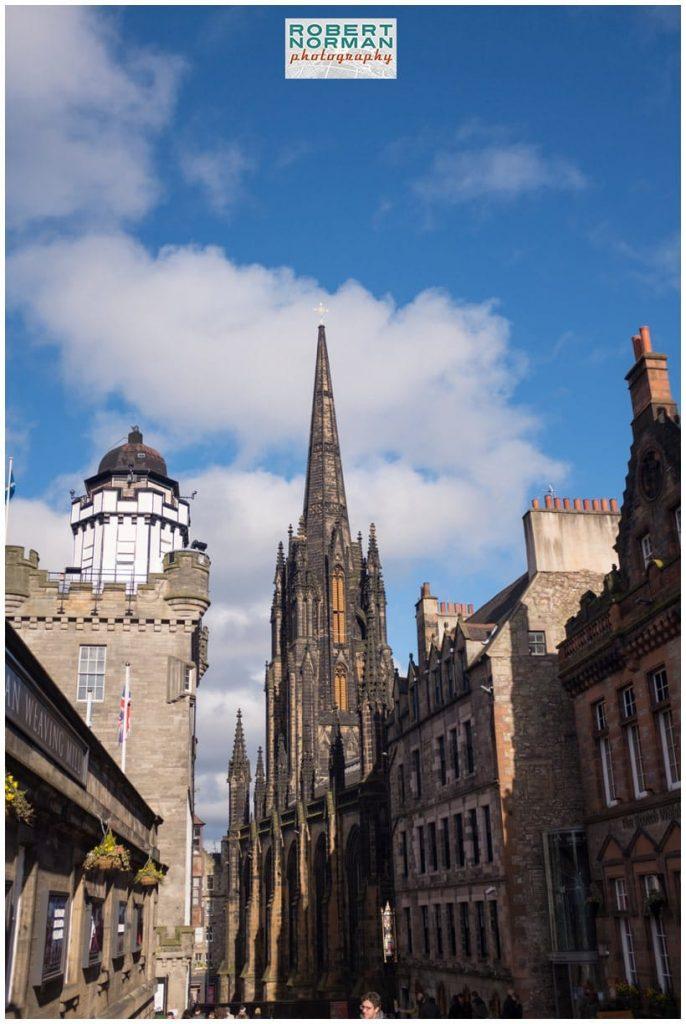 Edinburgh Old Town - castle