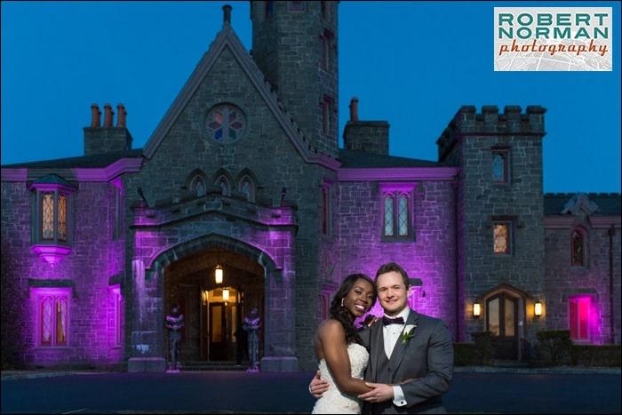 Whitby Castle wedding, Rye New York