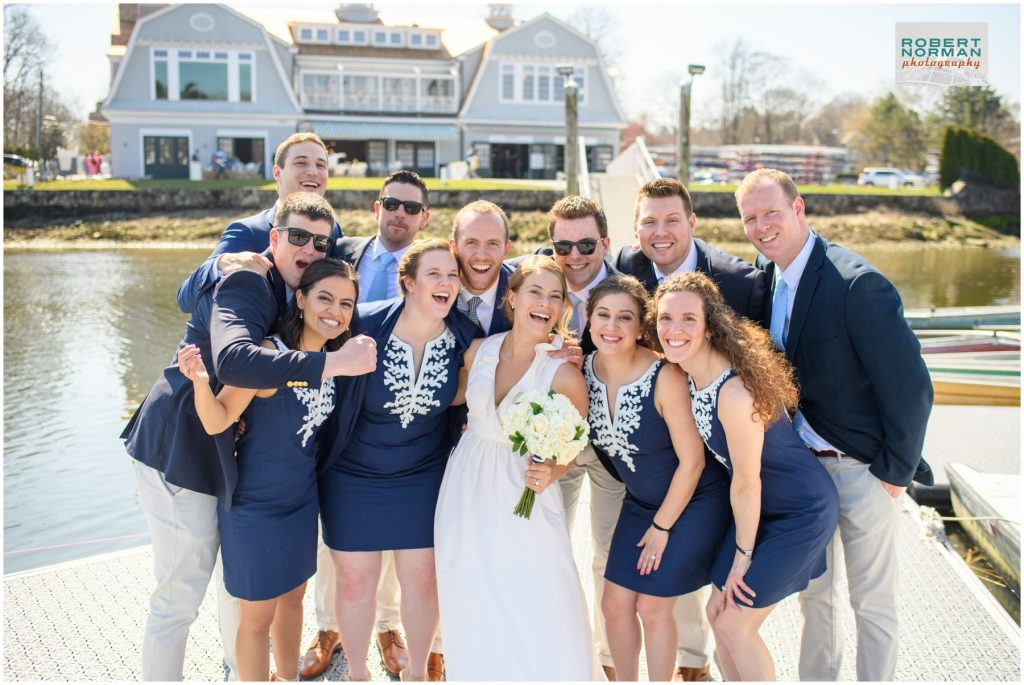 The Boathouse Restaurant- Saugatuck Rowing Club wedding