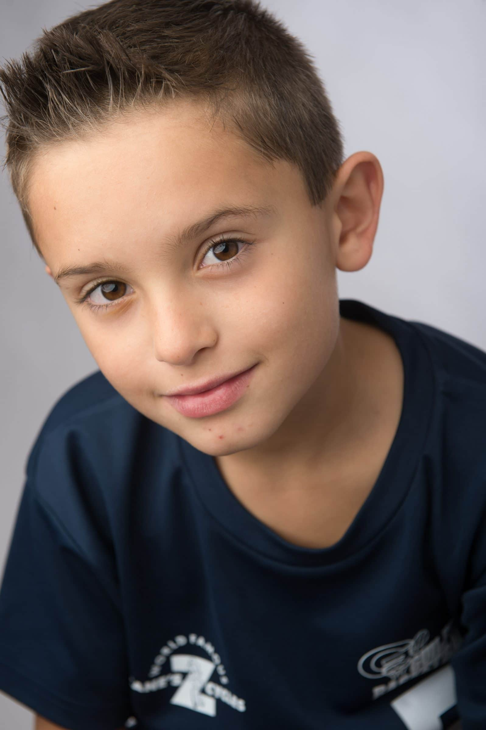 portrait of young boy
